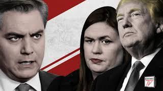 Trump dice que puede echar de la Casa Blanca a los periodistas que le venga en gana.