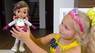 Алиса ХРАБРАЯ и СМЕЛАЯ как кукла из мультика Отважная принцесса НЕЛЛА !!!