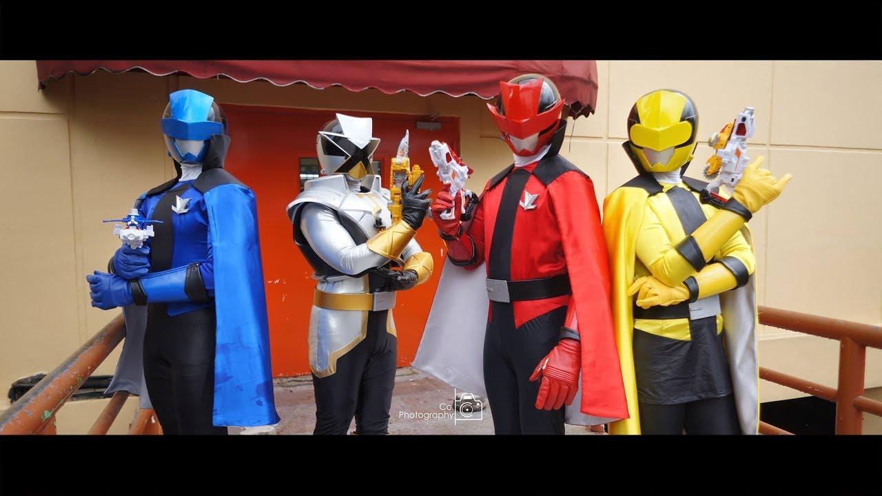 Lupinranger Vs Patranger Cosplay Live Show Jakarta Toys