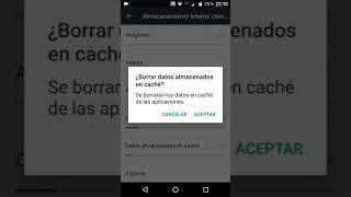 Como Liberar Espacio En Mi Dispositivo Android