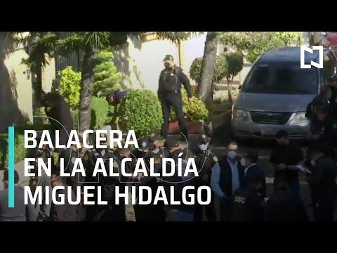 Balacera en vivienda de la alcaldía Miguel Hidalgo, CDMX - E