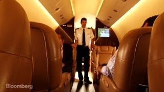 The Private-Jet Fleet on Loan From Wealthy Owners