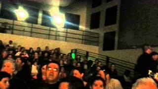 Man gets removed from a kindergarten concert