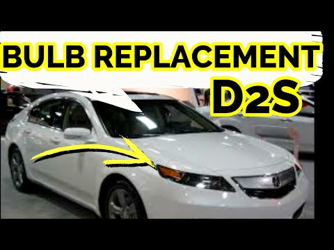 2009 2010 2011 2012 2013 2014  ACURA TL HOW TO REPLACE / CHANGE HEADLIGHT HALOGEN BULB (DIY)