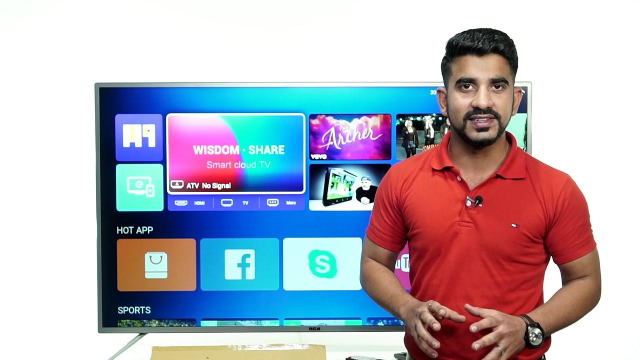 RCA Wisdom Share Smart cloud TV: First Look | Price | [Hindi-हिन्दी]
