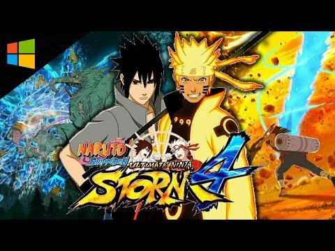 วิธีโหลดเกมส์ Naruto Shippuden: Ultimate Ninja Storm 4
