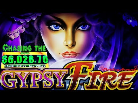Chasing a progressive on Gypsy Fire Slot Machine! at San Manuel Casino
