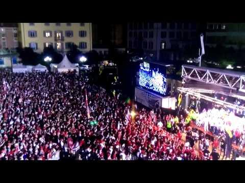 Oskar Freysinger huée final de coupe Suisse 2015