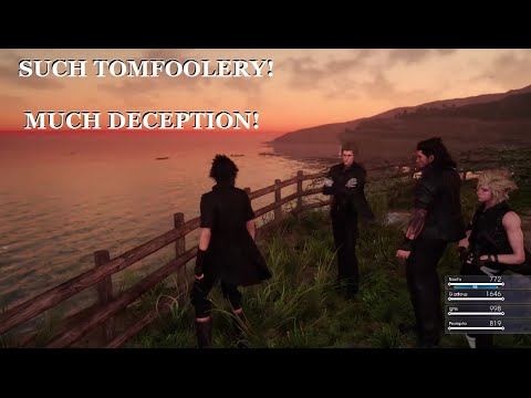 Final Fantasy XV not 100% open world. Some over world map real talk!