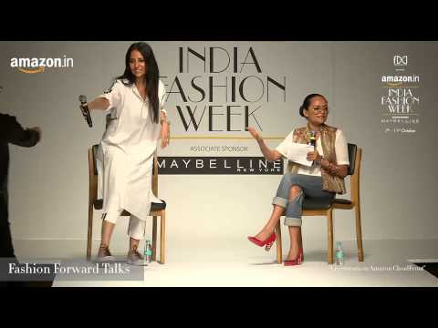 Fashion Forward Talks at Amazon India Fashion Week