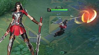 LADY SIF Thor Skin Gameplay - MARVEL Super War