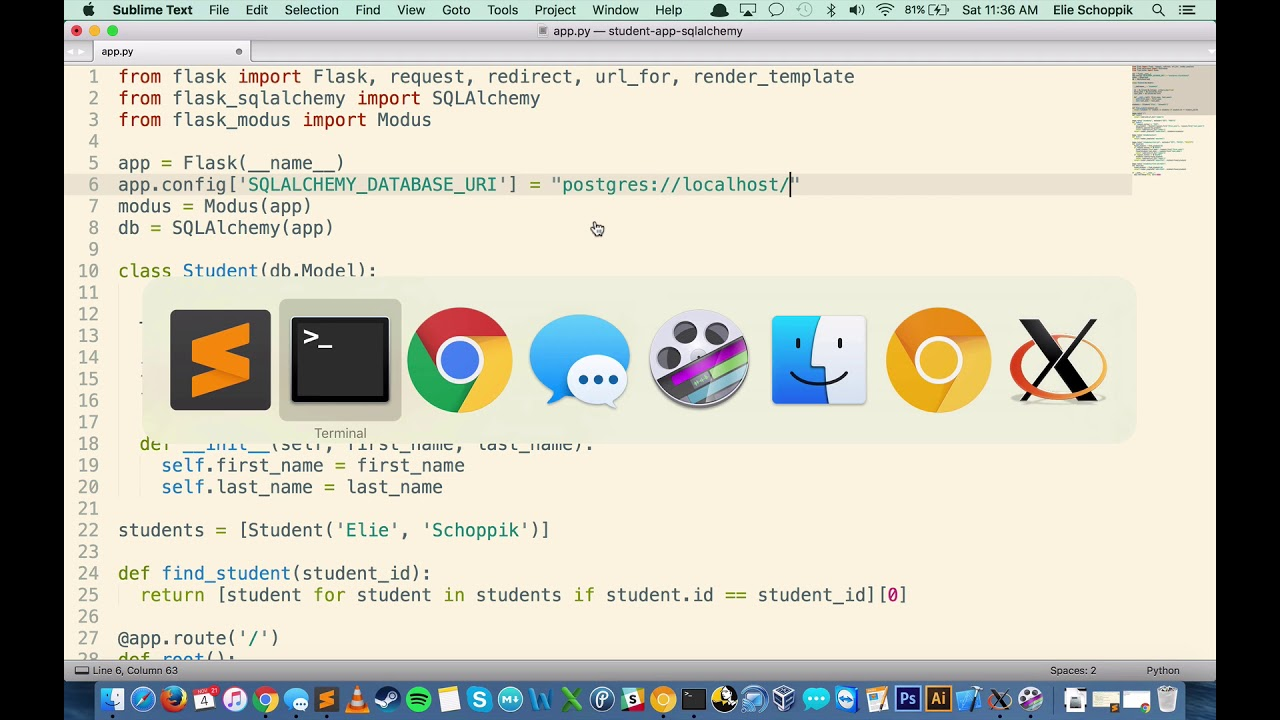 Free Python with Flask Fundamentals Course | Rithm School