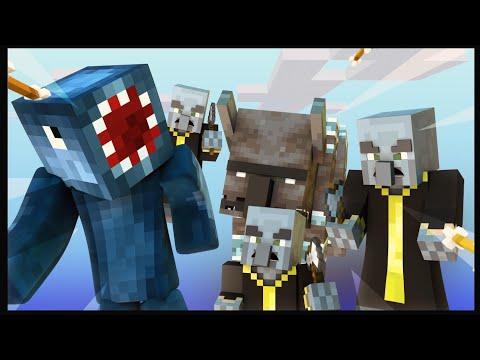 Minecraft - PILLAGER RAID CHALLENGE!!