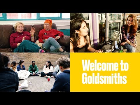 Welcome to Goldsmiths