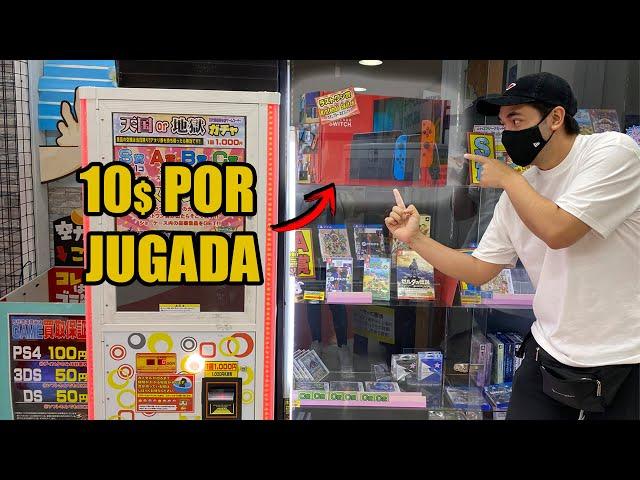 💵🔥RETO a una MAQUINA EXPENDEDORA de NINTENDO SWITCH en JAPON ! VIDEOJUEGOS