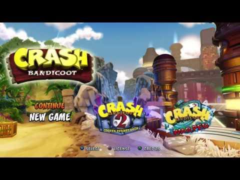 Crash Bandicoot | Just For Fun | All 3 Islands