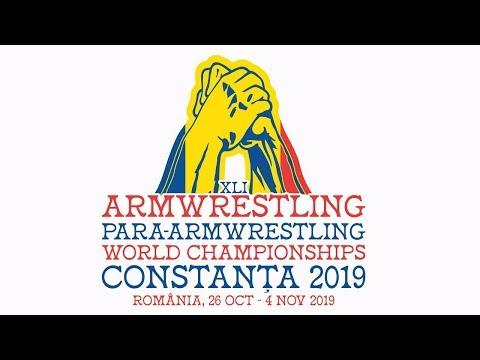 World Armwrestling Championship 2019 JUNIORS RIGHT ARM FINALS