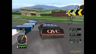 Andretti Racing - Gameplay PSX (PS One) HD 720P (Playstation classics)