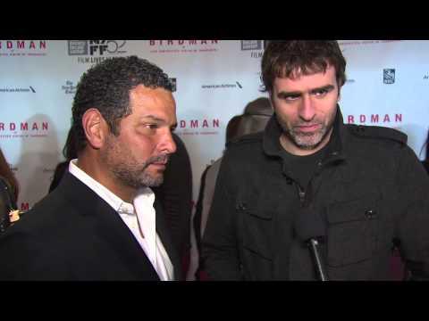 Birdman: Writers Alexander Dinelaris & Nicolas Giacobone New York Film Festival Premiere