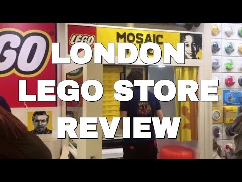 ► Tour Of London's LEGO Store In Leicester Square - Mosaic Maker, Pick & Build, Store Review
