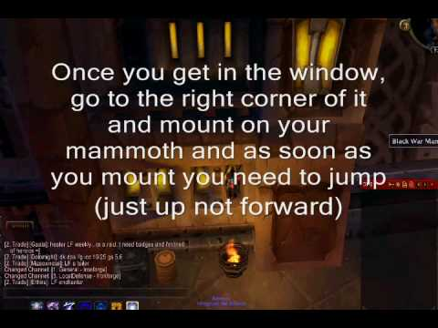 wow how to get to old silithus