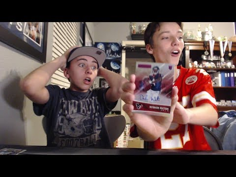 Football Card Pack Openings Huge RC Auto Pull With Jackson