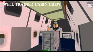 Aer Lingus. One day. The ad. Roblox