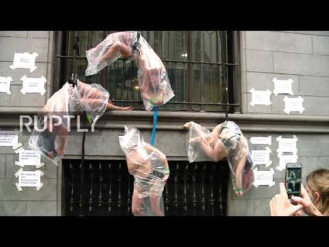 Argentina: Women protest after acquittal in fatal rape of teenager