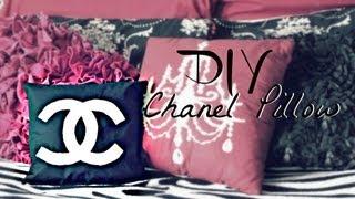 How To: DIY Chanel Inspired Pillow - Belinda Selene