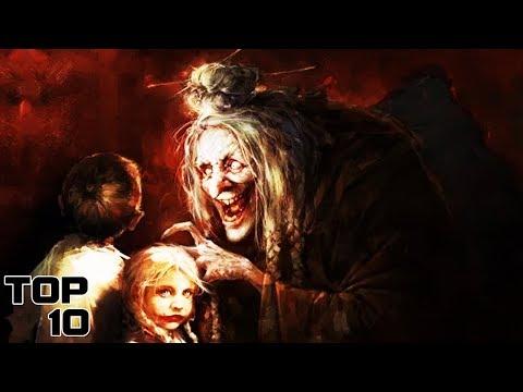 Top 10 Scary Grimm Fairy Tale Origins