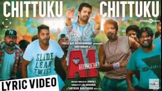 Chittuku chittuku lyric song A1 Santhanam Gaming tech