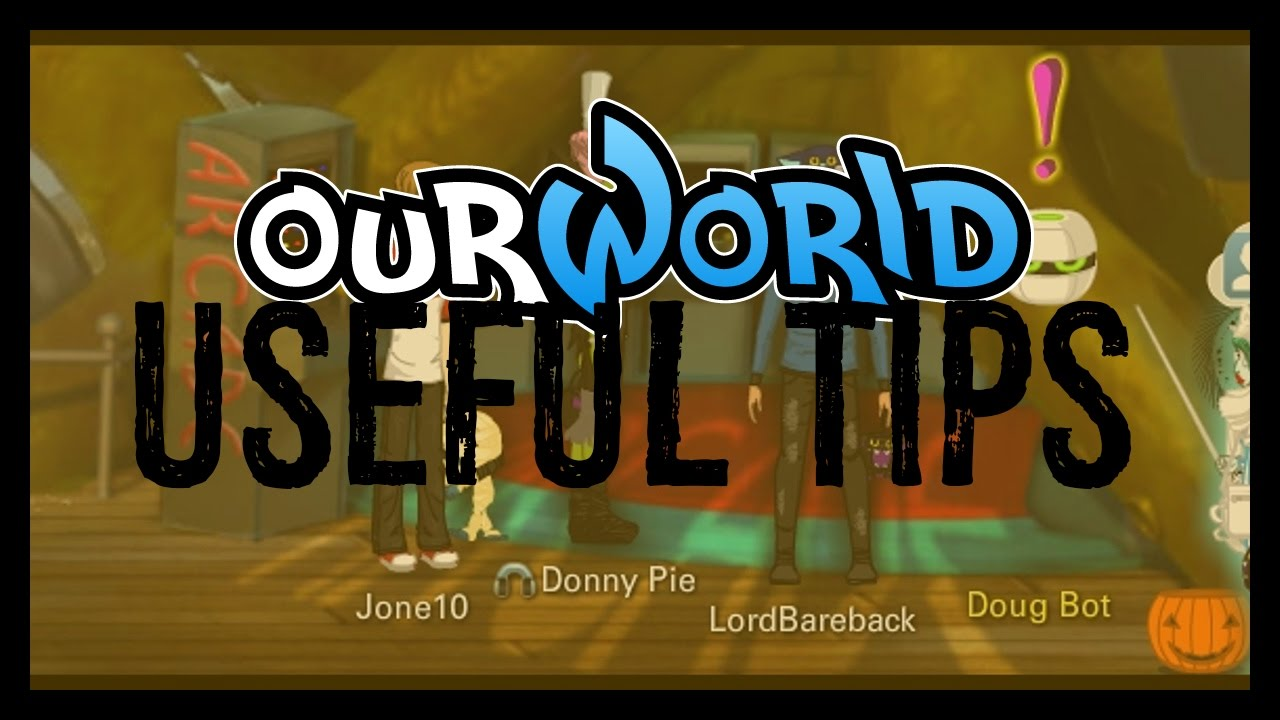 ourworld | 69 tips, tricks, and secrets (with random bits of Donny ...