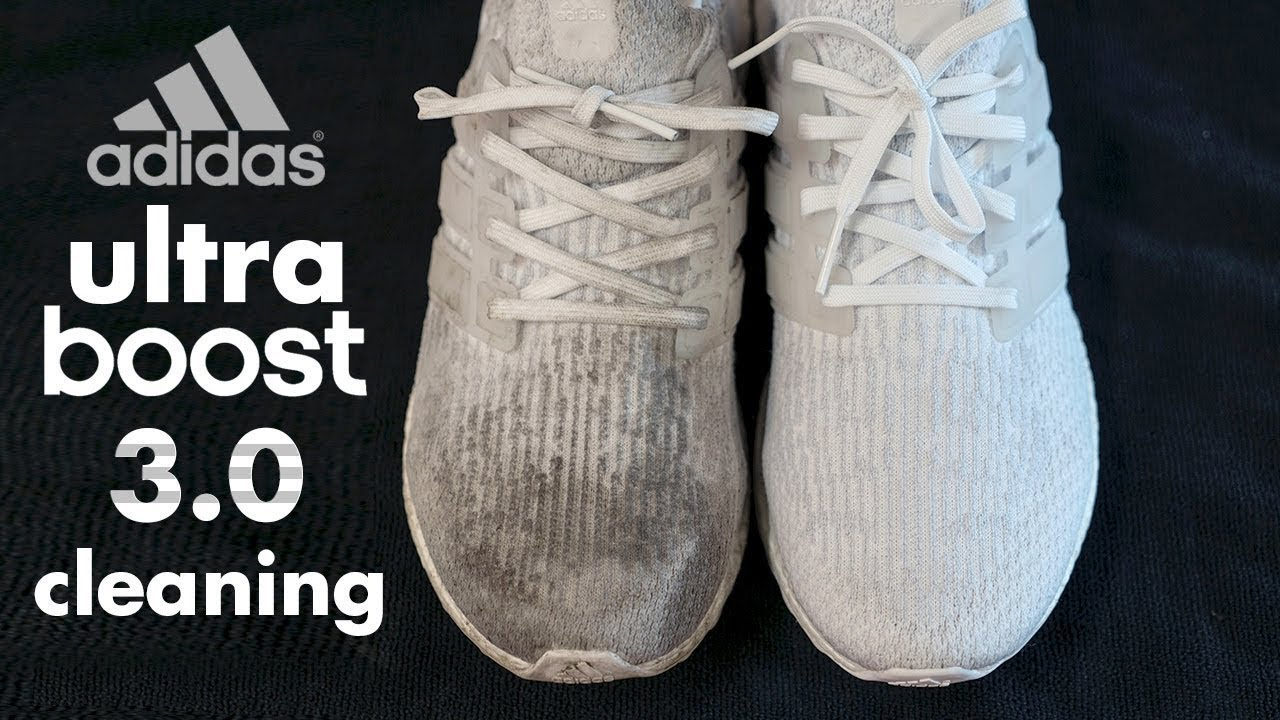 69c49b93efdfd The Best Way Possible to Clean Adidas White Ultraboost! - YouTube