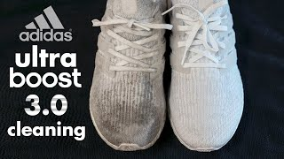 The Best Way Possible to Clean Adidas White Ultraboost!