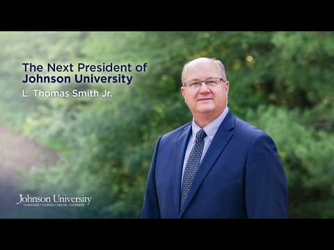 Tommy Smith Announced as Next President of Johnson University