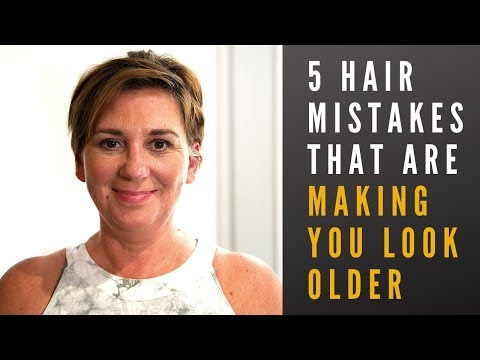 Hair Mistakes That Age You Faster (Tips to looking younger 2019)
