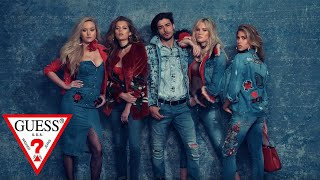 GUESS Jeans Fall '17 Campaign featuring Ireland Baldwin