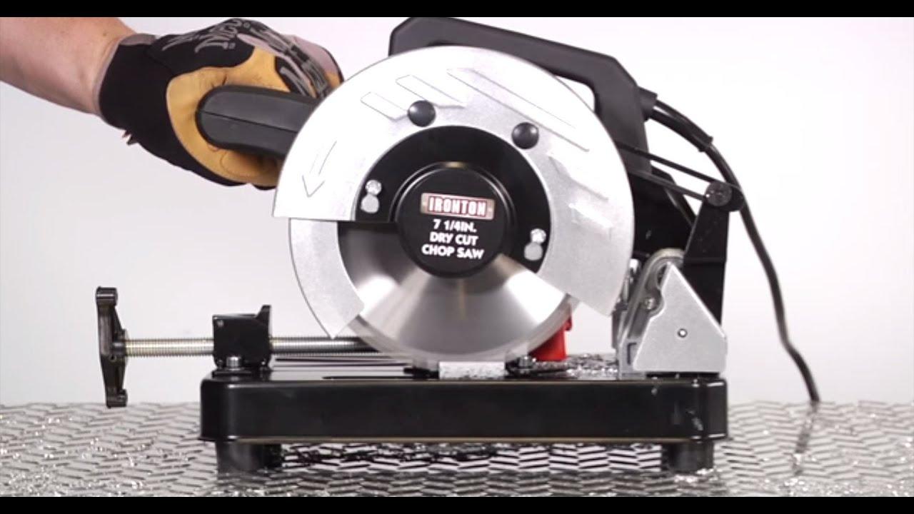 dry cut metal saw. dry cut chop saw - youtube metal t