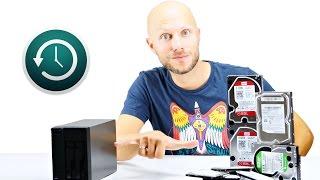 Time Machine von USB auf NAS verschieben | iDomiX