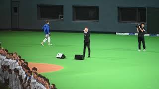 2018.03.30. @札幌ドーム 国歌斉唱は、EXILEのSHOKICHIさんでした。