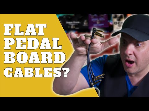 Pedalboard Wiring Tips | Rock Stock Flat Patch Cables & More