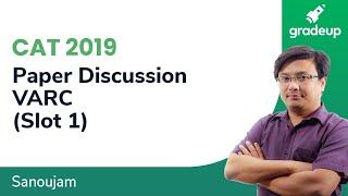 CAT 2019 Answer Key (Slot 1) | VARC | Question Discussion | CAT 2019 Solution