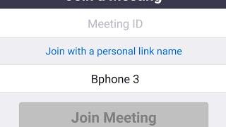 Hướng dẫn cách vào phòng họp Zoom trên điện thoại