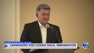 AG Weiser, Sen. Gardner discuss Dreamers, DACA at Colorado Compact on Immigration forum