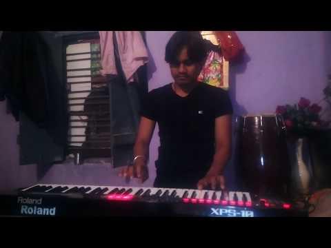Badra jab chaye tu bahot yaad aaye Deepak Kumar sursangram3 keyboard playing