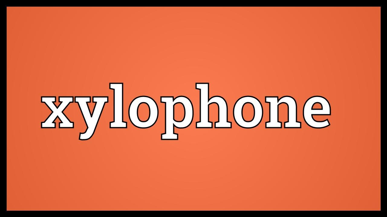 Xylophone Meaning - YouTube