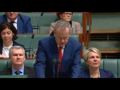 House Question Time 9 August 2017