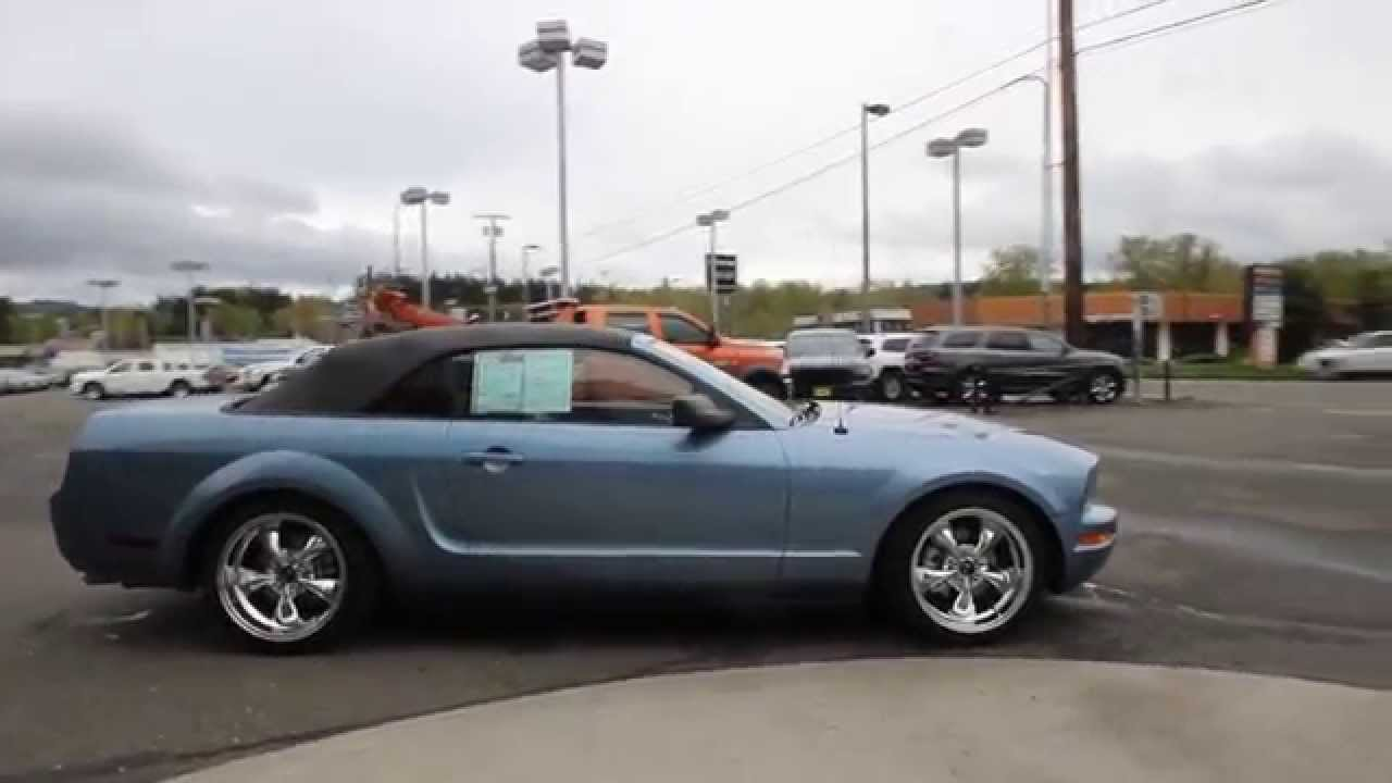 2005 Ford Mustang Convertible Windveil Blue Clearcoat