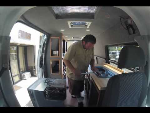 R.V. Interior Sprinter Buildout