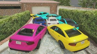 ACCIDENTE DE 20.000 COCHES - CARRERA GTA V ONLINE - GTA 5 ONLINE